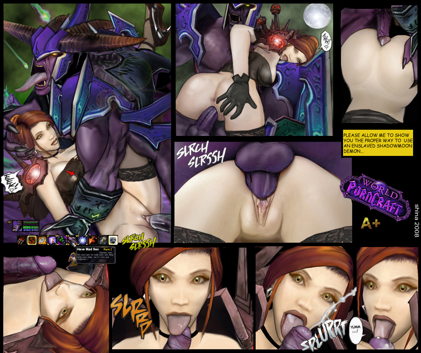 Xxx world warcraft pic sexy slut