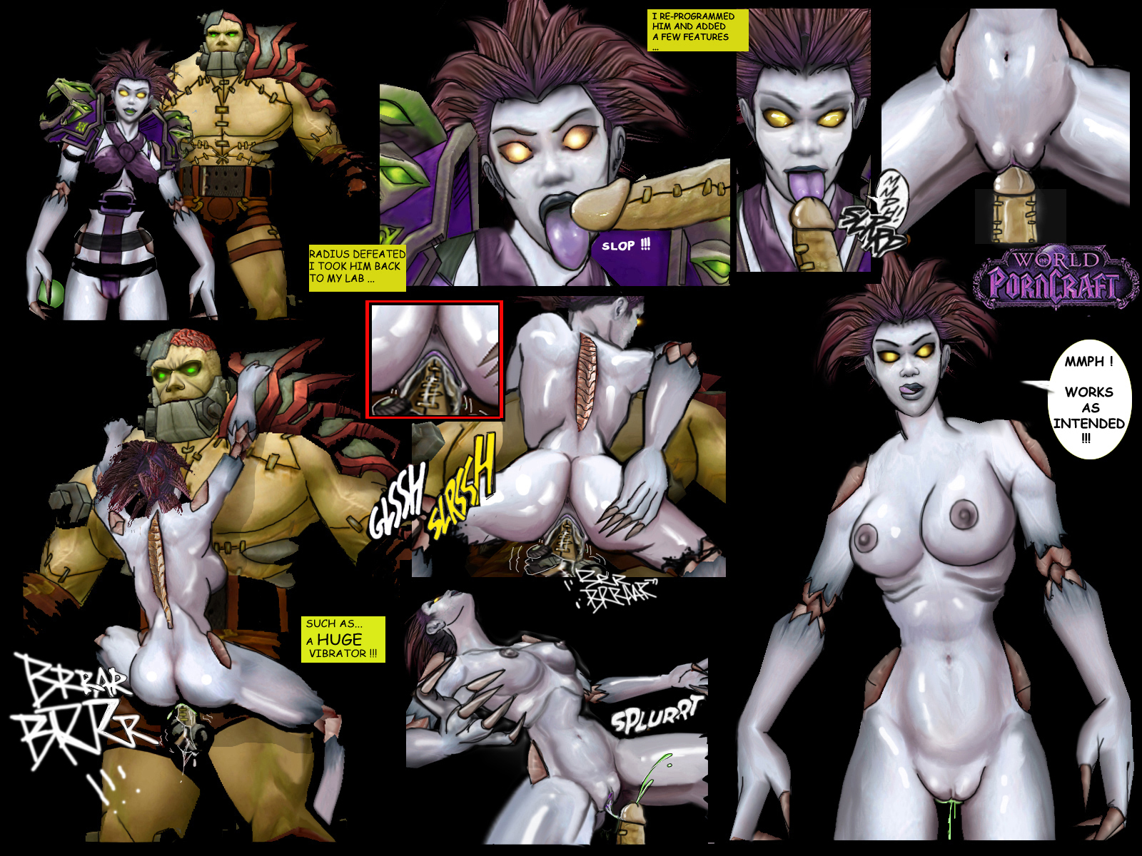 Undead female porncraft erotic gallery