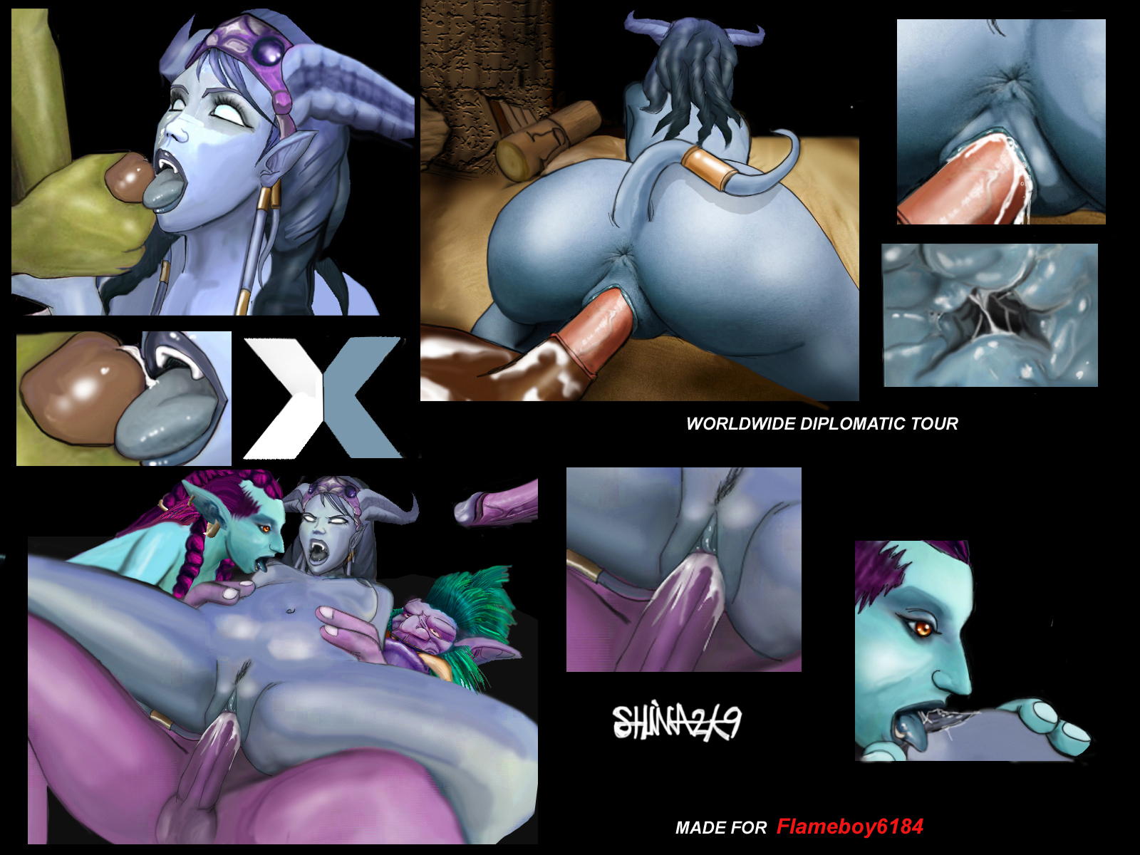 World of porncraft xxx draenei fuck ass nude videos