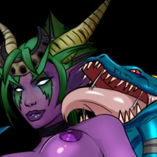 Beast / monster sex